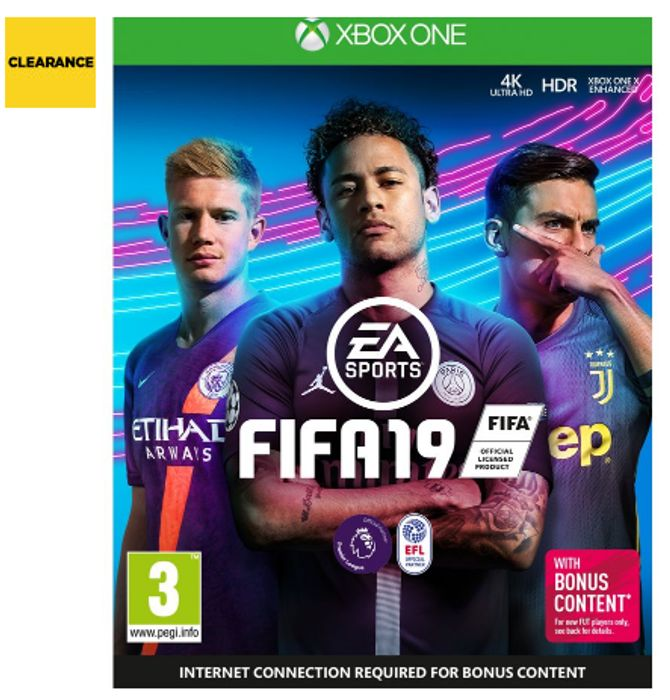 Cheap XBOX ONE FIFA 19 - Save £21