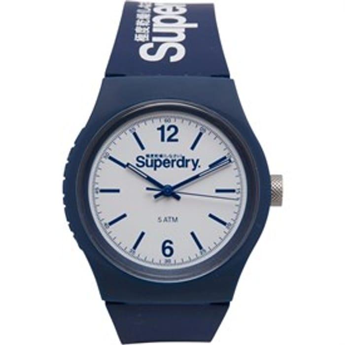 Superdry Mens Watch Navy