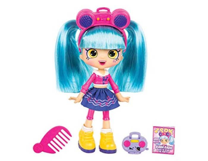 Shopkins Shoppies Dance Style Riana Radio Doll Playset