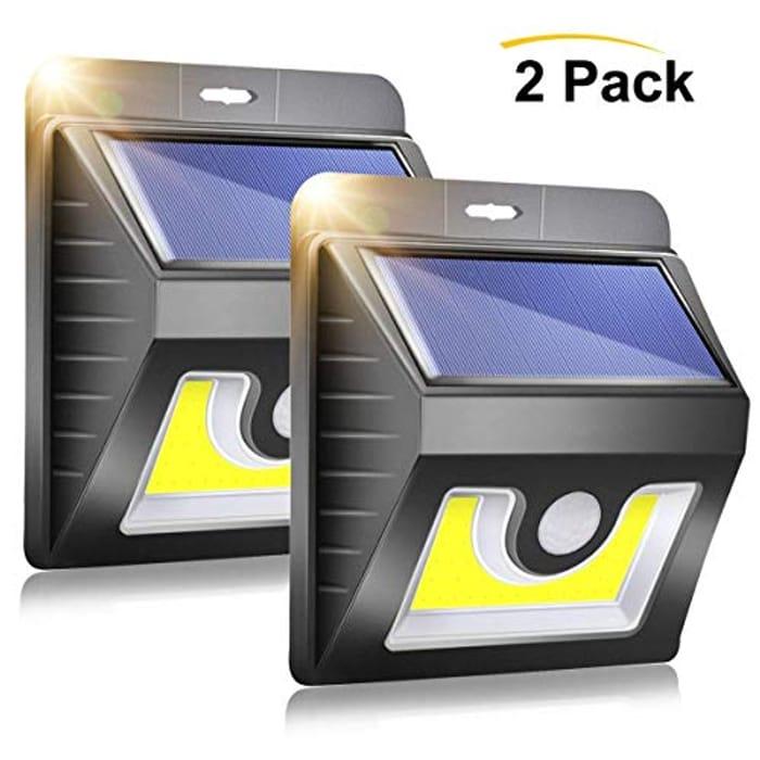 Solar Lights Outdoor 2 Pack