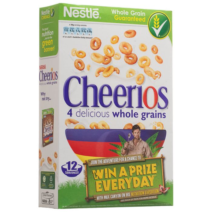 Cheap Nestle Cheerios 375g reduced by 49p!