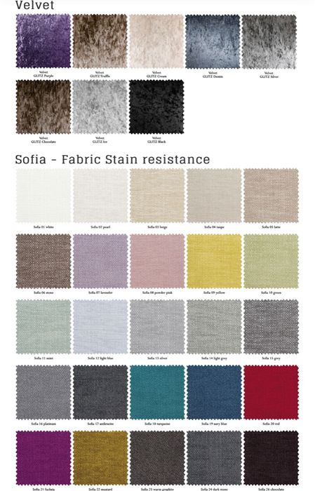 Free Sofa Fabric Material Swatches!