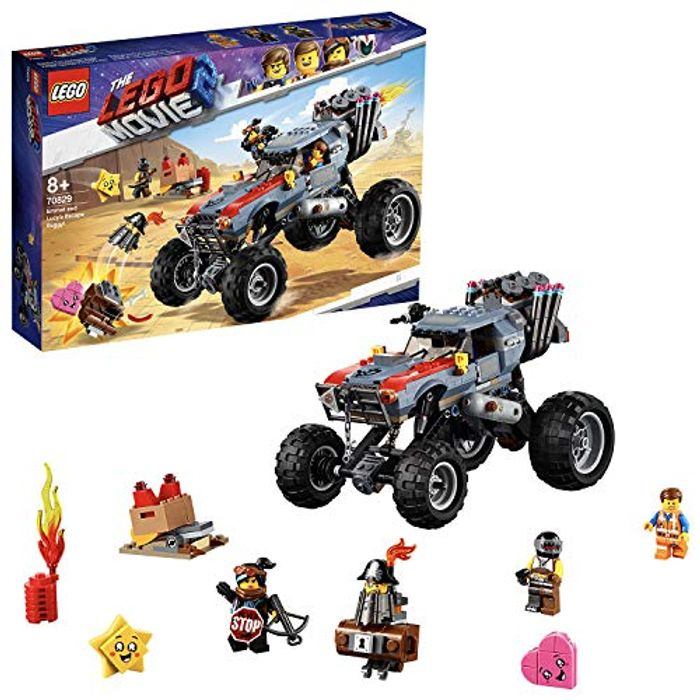 Best Ever Price! LEGO Movie 2 70829 Emmet and Lucys Escape Buggy