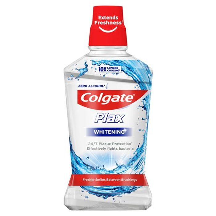 Colgate Plax Mouthwash 500ml Various Flavours, Better than Half Price