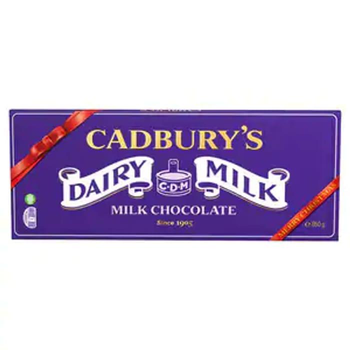 HUGE Cadbury Dairy Milk Block 850g