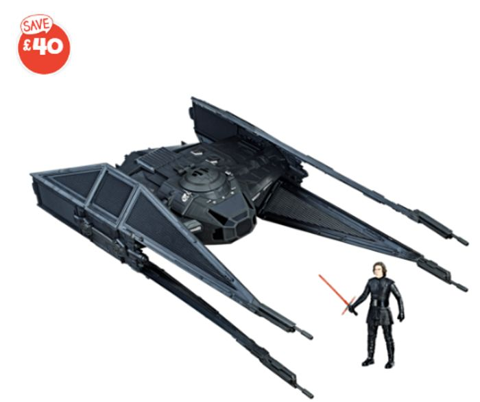 Star Wars Force Link - Kylo Ren's Tie Silencer - Only £14.99!