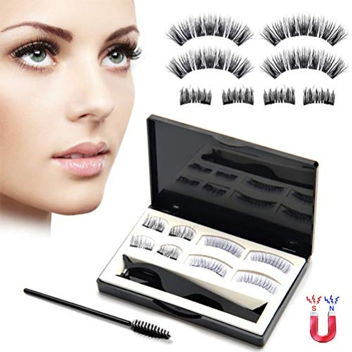 Upgraded Magnetic Eyelashes Natural Look