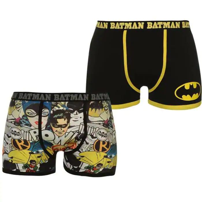 Character 2 Pack Boxers Mens Batman