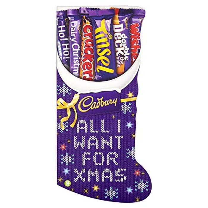 Cadbury Medium Stocking Chocolate Selection Box, 194 G, Pack of 8