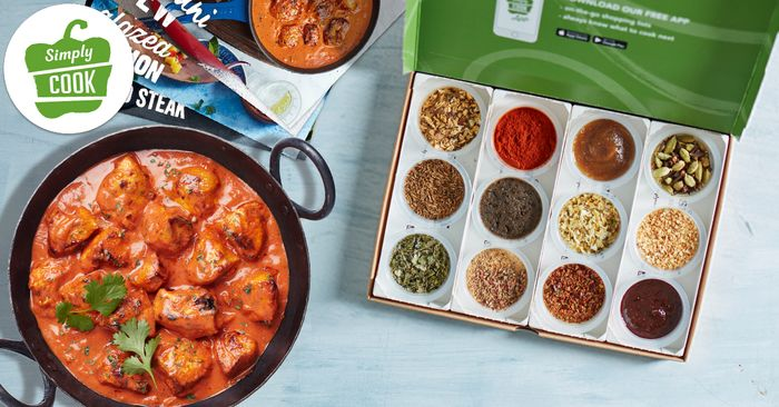 50% offFirst Box Orders at SimplyCook