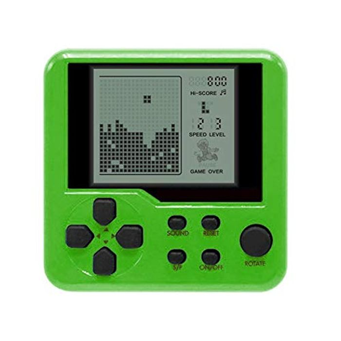 Hand Held Tetris Retro Game