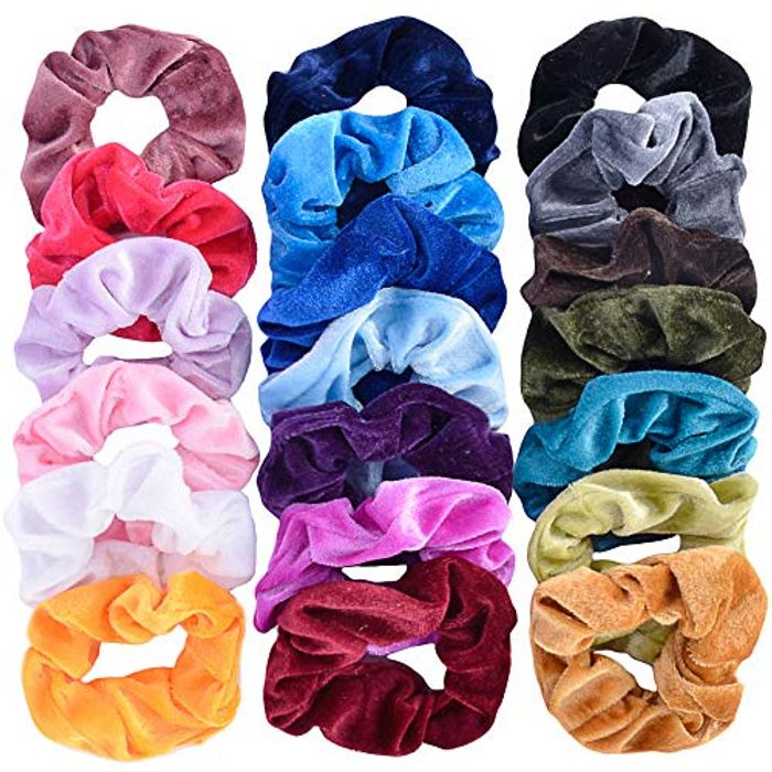 20 Pcs Hair Scrunchies with Free Delivery