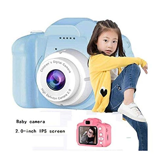 Kids Camera Blue and Pink