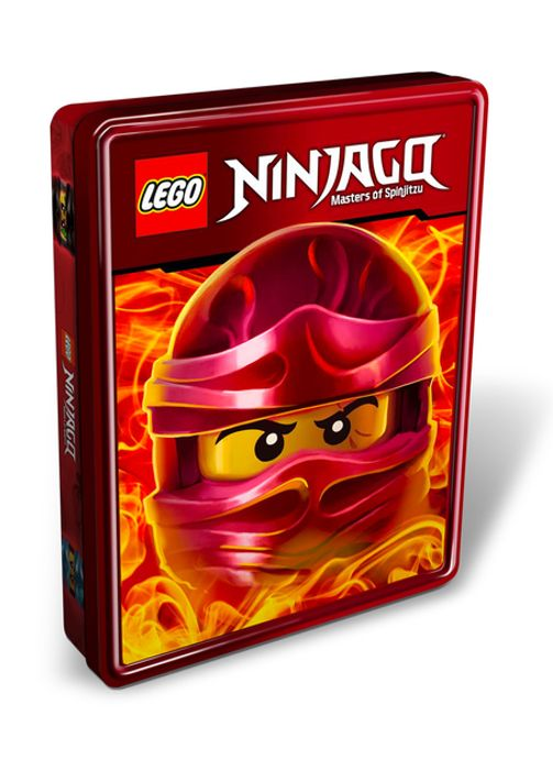 Lego Ninjago Masters of Spinjitzu Tin