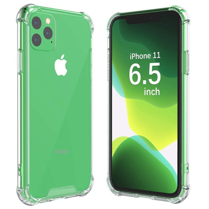 iPhone 11 Crystal Clear Hard Back Case
