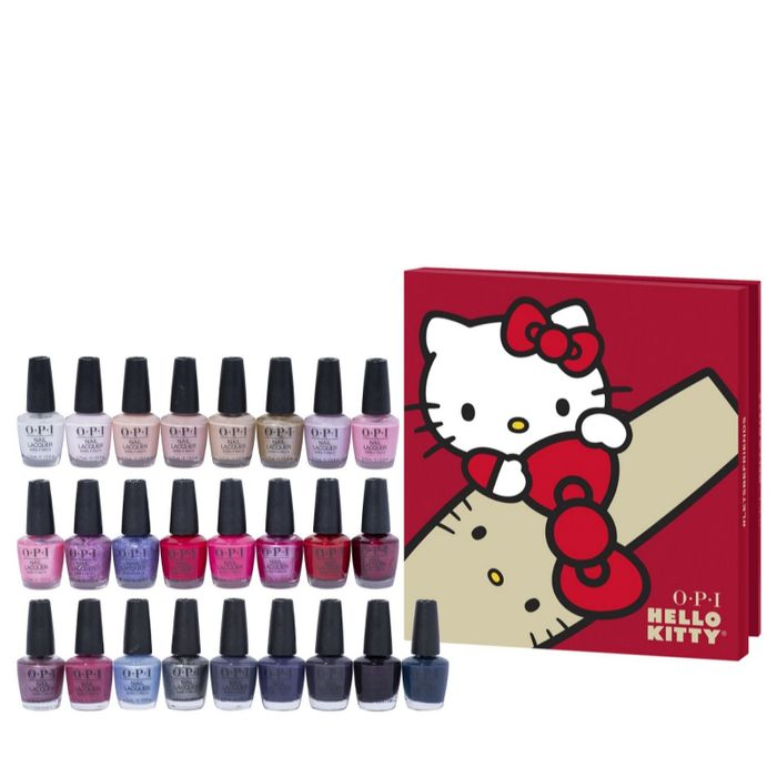 OPI Hello Kitty 25 Piece Advent Calender