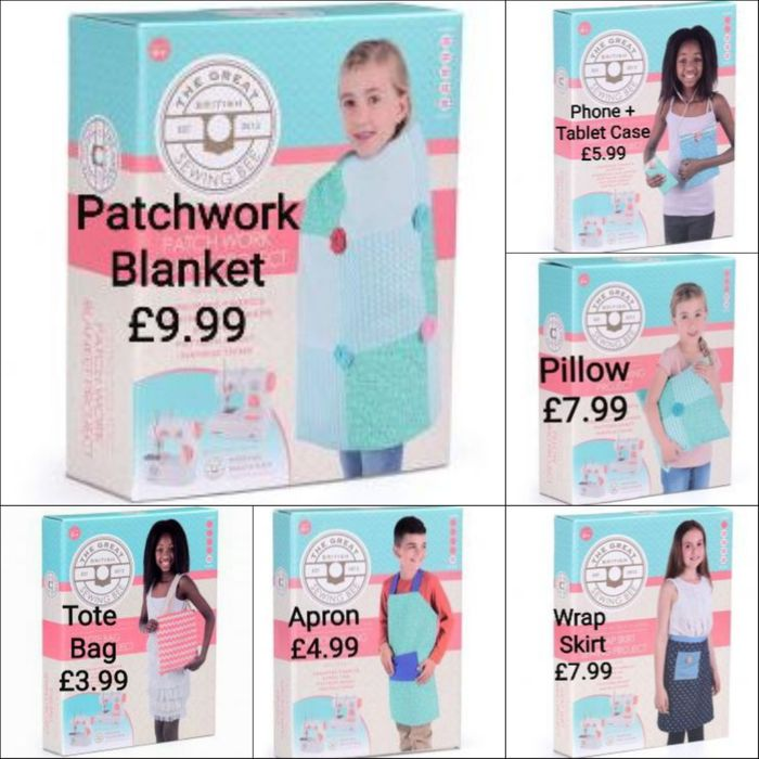 £9.99 and Less for 'Great British Sewing Bee Projects' up to 80% Discount!