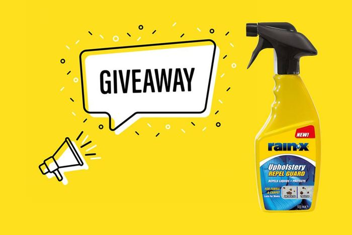 Win 1 of 3 Rain-X Upholstery Repel Guard!