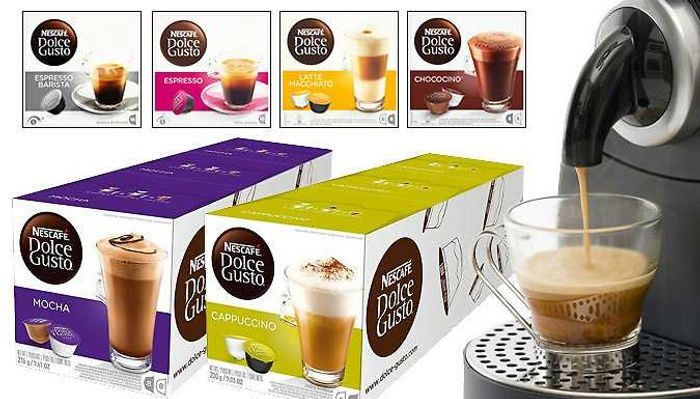 Cheap 48 Nescafe Dolce Gusto Pods - 24 Flavours, reduced by £25