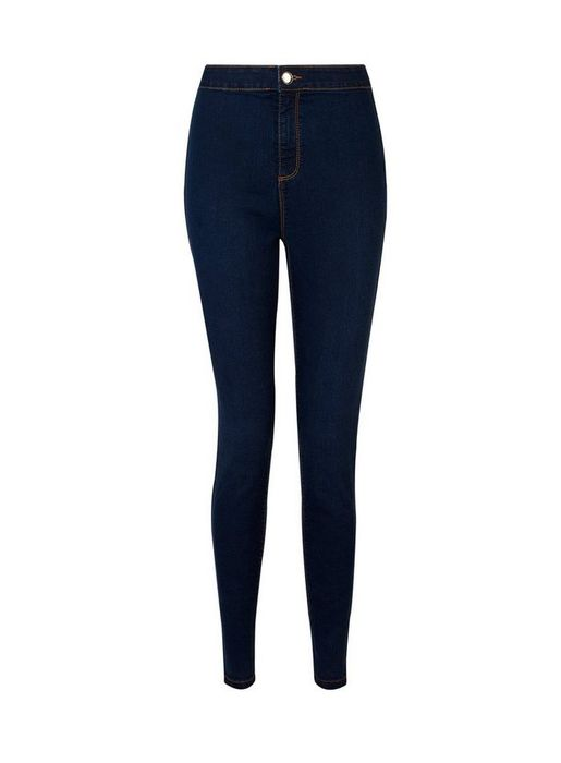 Cheap Indigo Lyla High Waisted Skinny Jeans with 25% Discount!
