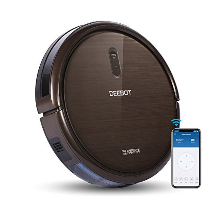 ECOVACS ROBOTICS N79S Robot Vacuum Cleaner High Suction, Auto Self-Charge