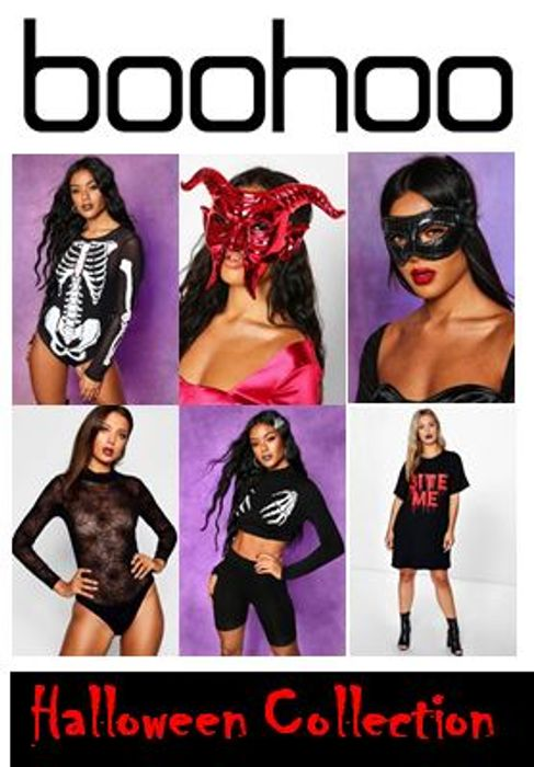 Special Offer HALLOWEEN Outfits, Make-up & Accessories at Boohoo