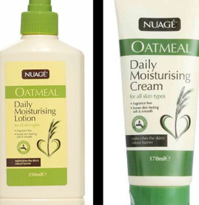 Cheap Nuage Oatmeal Daily Moisturising Cream and Lotion ONLY £1 EACH