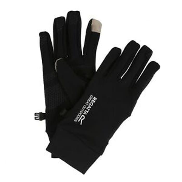 Regatta Mens Touchtip Gloves Softshell Stretch - 60% Off!