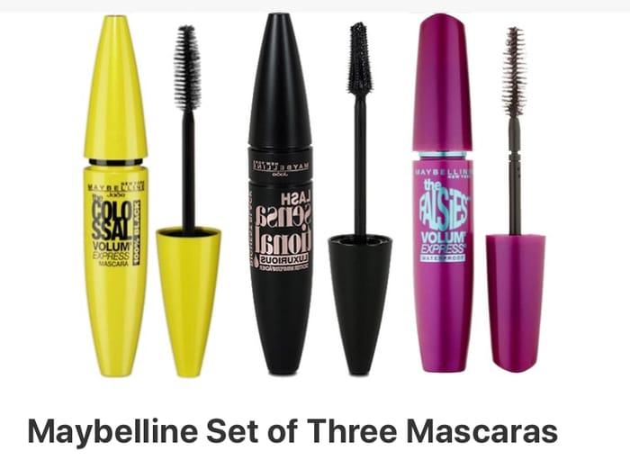 Maybelline Set of Three Mascaras - 64% Off!