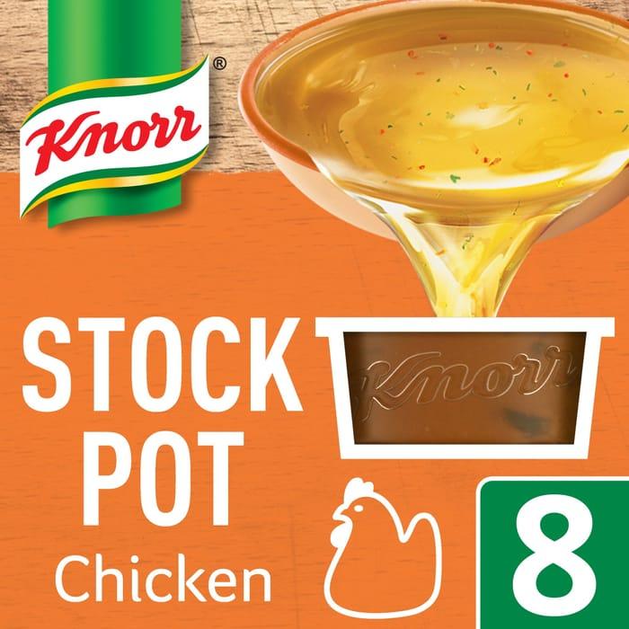 Knorr Chicken Stock Pot 8'S 224G