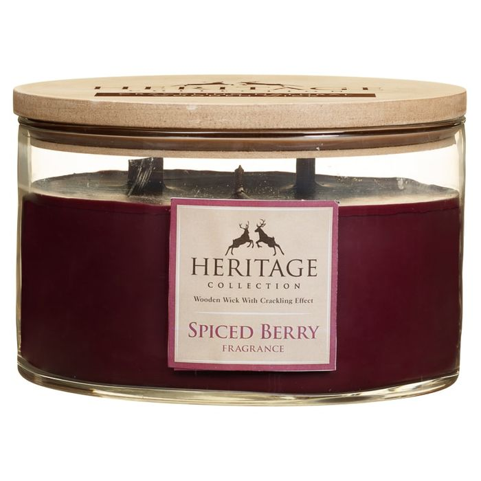 Heritage Collection XL round Candle - Spiced Berry