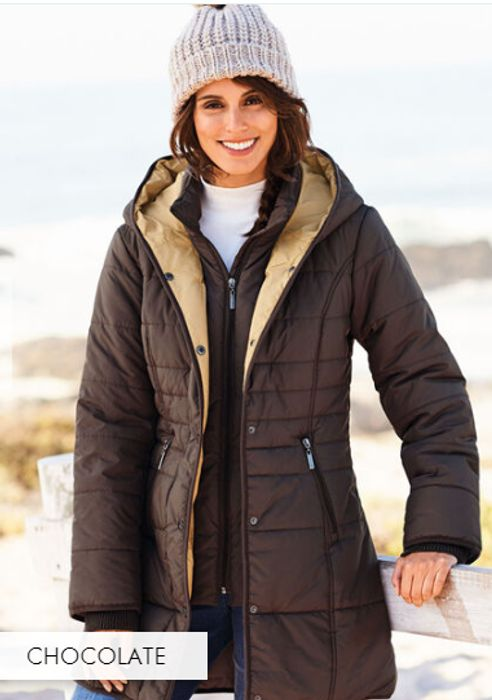 Padded, Hooded, Windproof, Double Fastening, Coat *HALF PRICE!! *SEE PICS