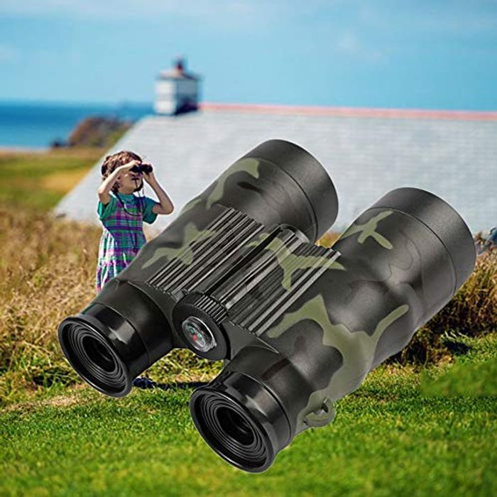 6X Kids Binoculars Set with High Resolution Real Optics £3.81 Delivered