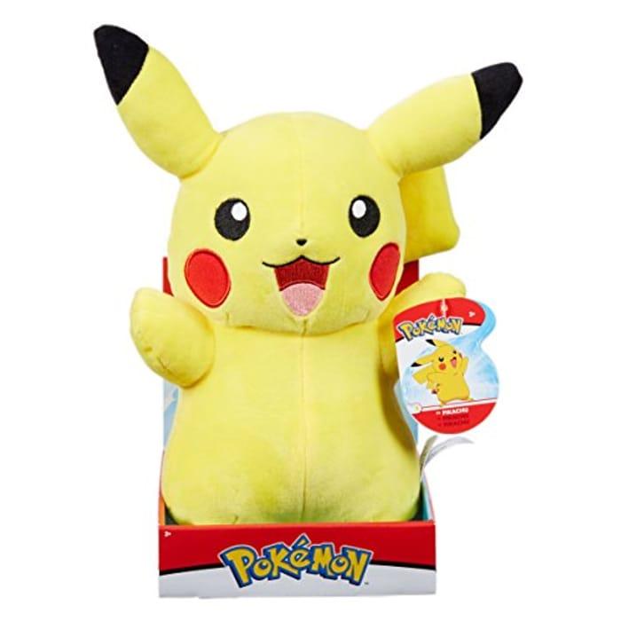"""Pokemon 12"""" Pikachu Plush"""