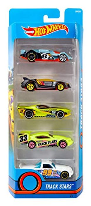 Hot Wheels Diecast Cars - Pack of 5 (AMAZON ADD-on ITEM)