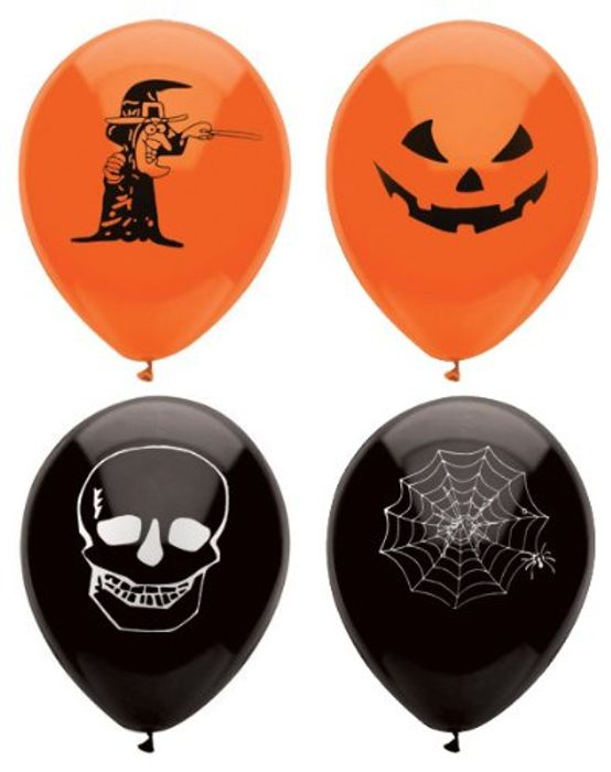 Cheap Henbrandt 15 Assorted Halloween Balloons £1.05 Delivered