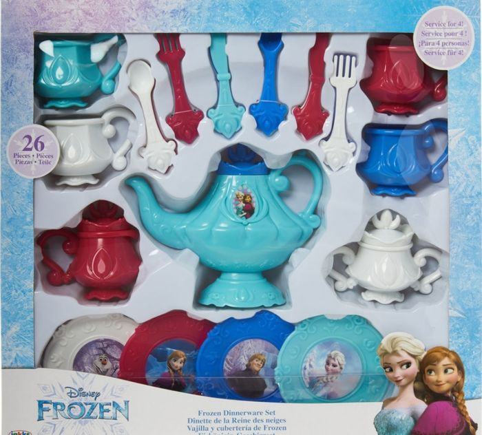 DISNEY Multicolour Large Frozen Dinnerware Set