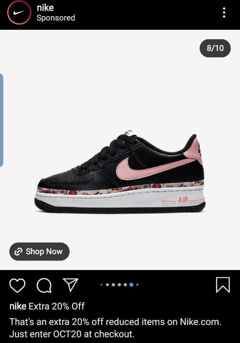 Nike Extra 20% Off