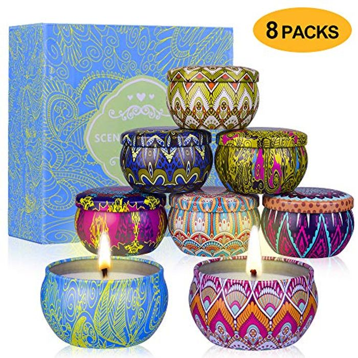 Super Sun 8 Scented Candles