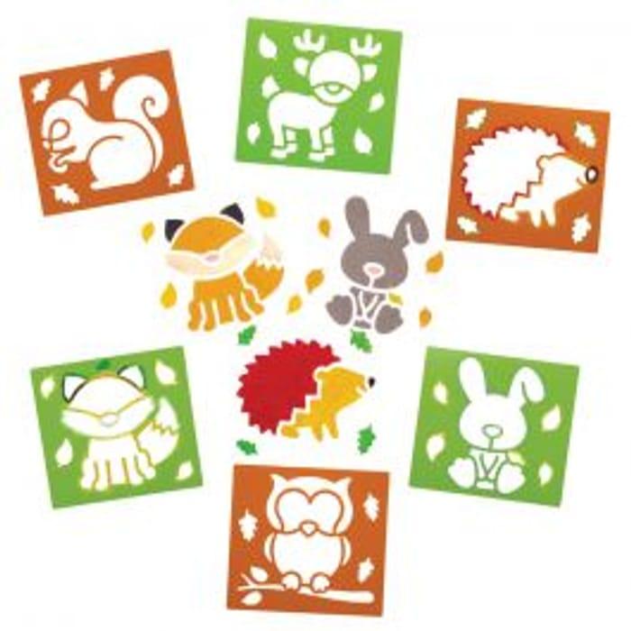 Woodland Animal Stencils