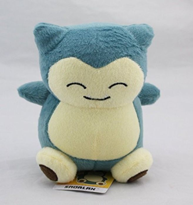 Snorlax Pokemon Plush Toy 15cm / 6 Inches FREE DELIVERY