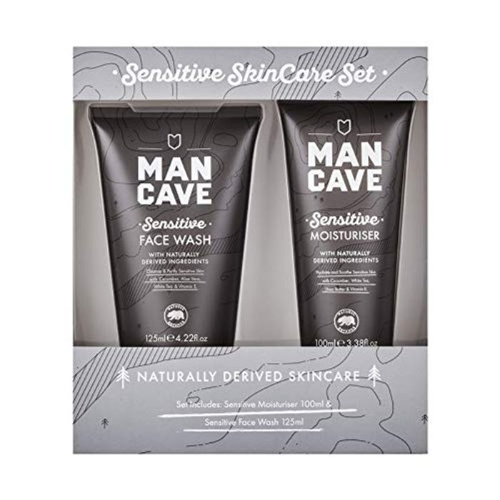 Man Cave Sensitive SkinCare Set
