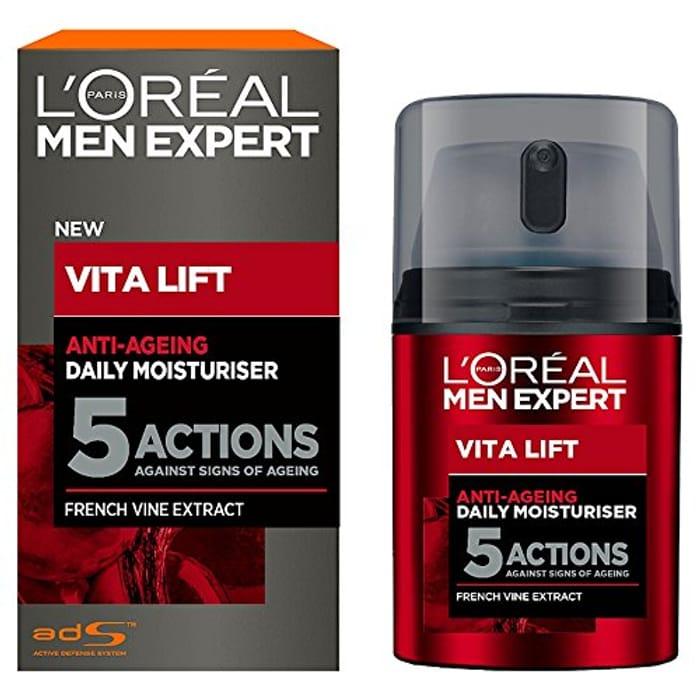 L'Oral Men Expert Vita Lift 5 Anti Ageing Moisturiser, 50 Ml