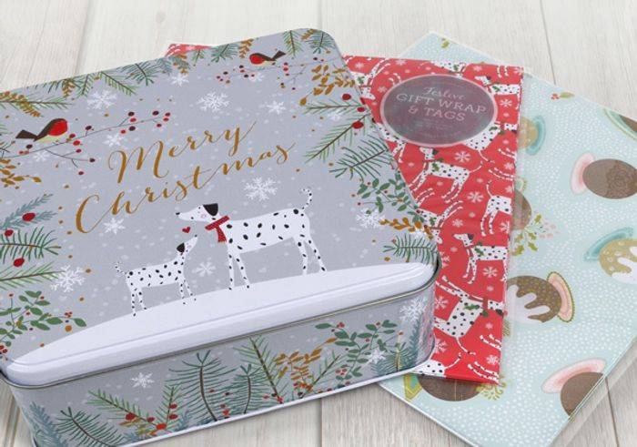 Get a Free Festive Tin When You Buy 30 Christmas Cards for £16