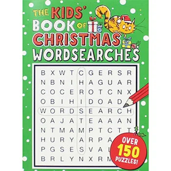 The Kids Book of Christmas Wordsearches 79% OFF USING CODE