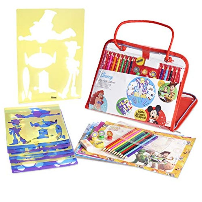 Disney Stencils and Drawing Art Set for Kids