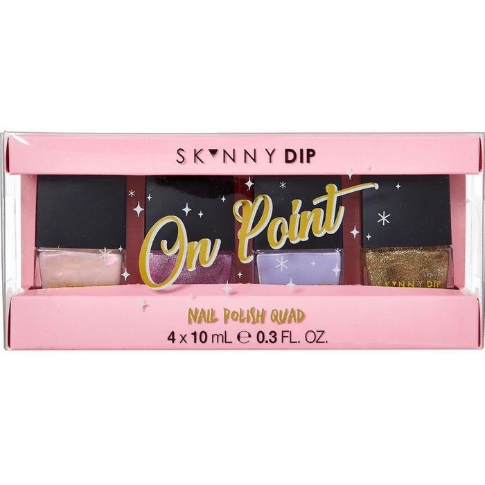 Cheap SKINNY DIP on Point Nail Polish Quad Set 4x10ml on Sale From £14 to £5.99