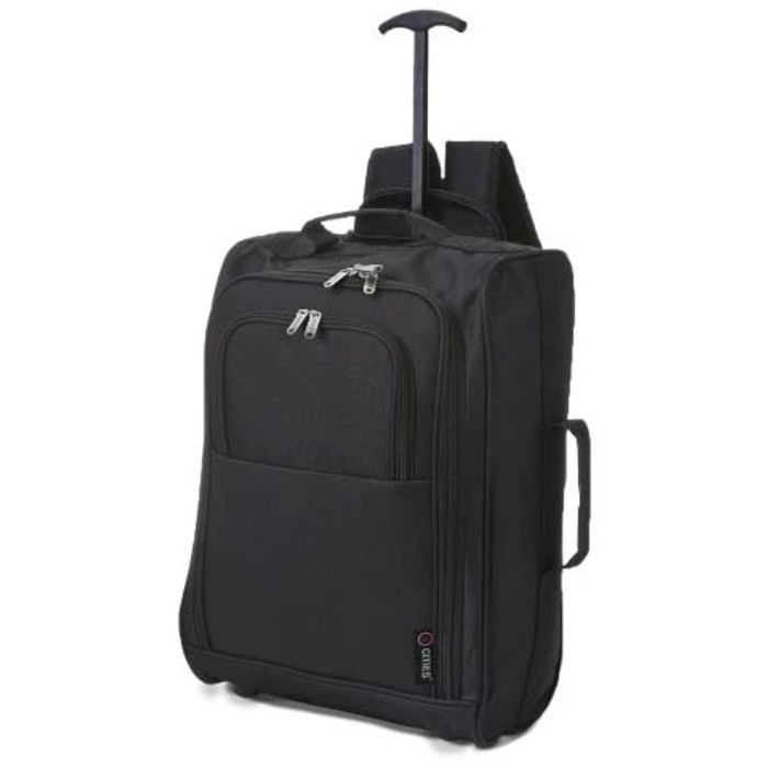 Lightweight Cabin Hand Luggage. 2 wheels/backpack £13.20 with code TROOPTRAVEL12