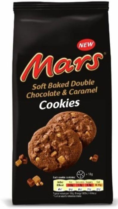 NEW Mars Soft Baked Cookies