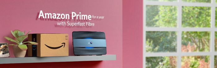 Get Amazon Prime Free for a Year with BT Superfast Fibre
